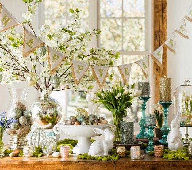 Happy Easter Decorating Idea